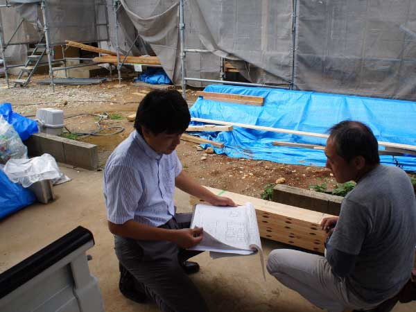 設計提案の際の建築模型|愛知県春日井市・小牧市・名古屋市などでローコストデザイン住宅設計・新築・注文住宅はKEN設計一級建築士事務所