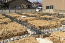 木造福祉施設基礎工事