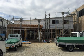 木造福祉施設建前