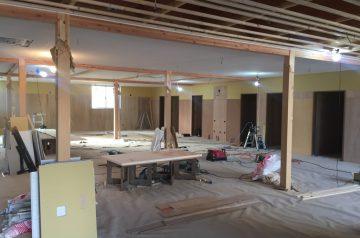 木造福祉施設木工事