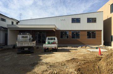 木造福祉施設外観
